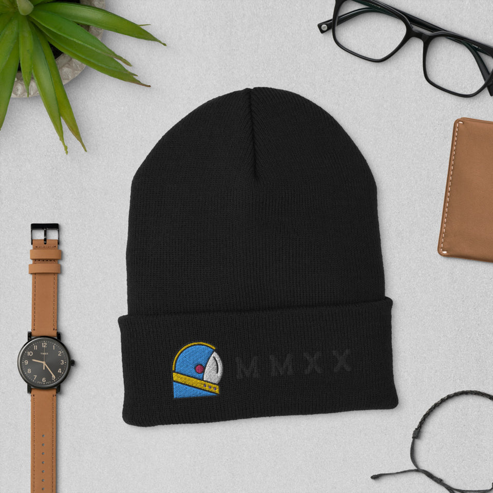 black moondream beanie