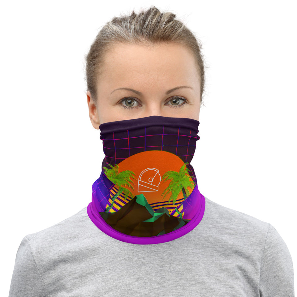 MOON-8BIT Neck Gaiter
