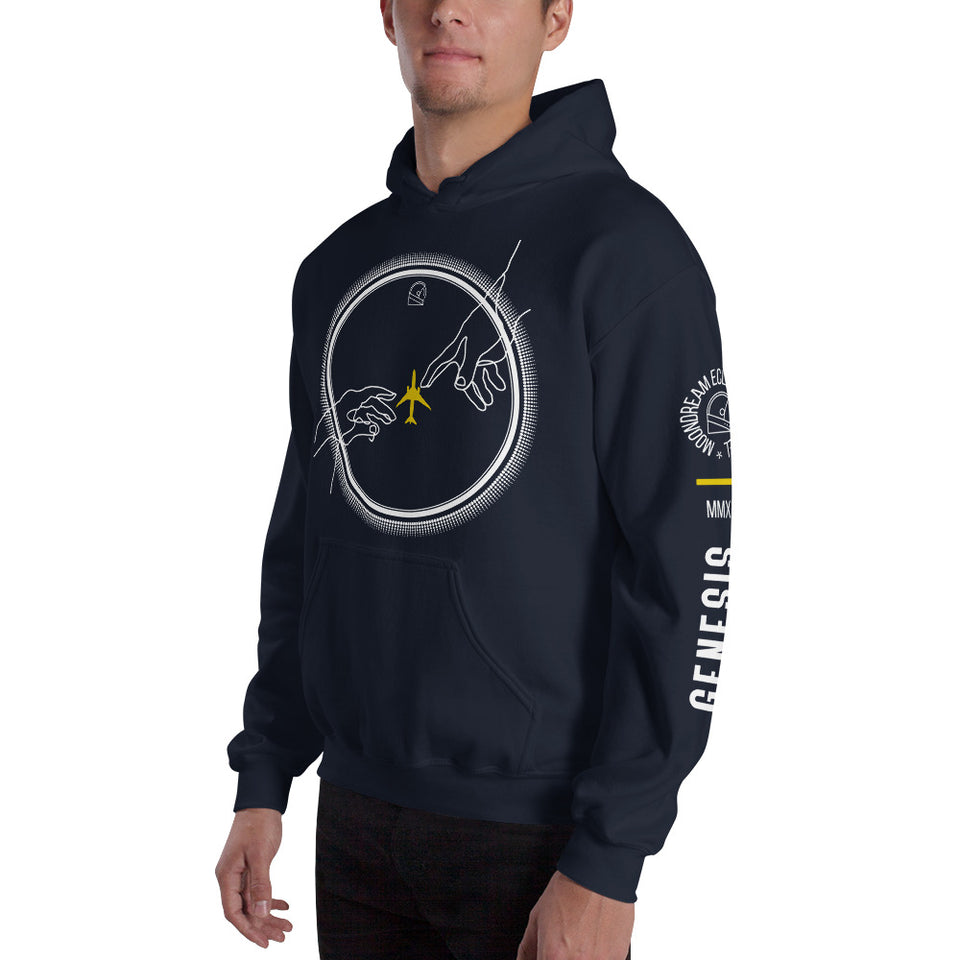 The Rebirth of Aviation Unisex Graphic Hoodie