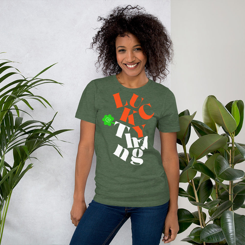 Lucky Thang St. Patricks Unisex Graphic Tee