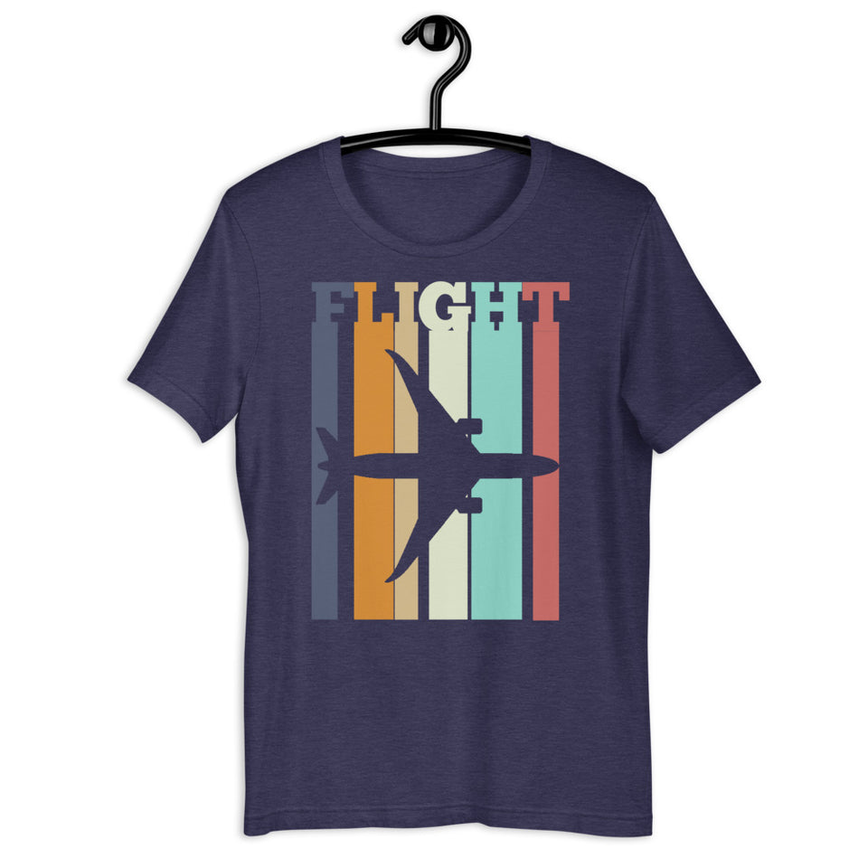 flight boeing 787 retro tee