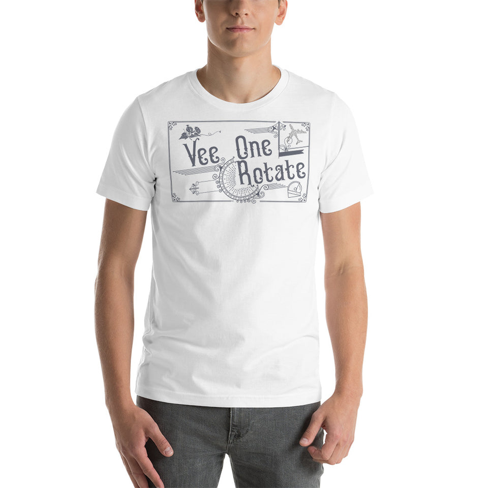 Vee One, Rotate Short-Sleeve Unisex T-Shirt