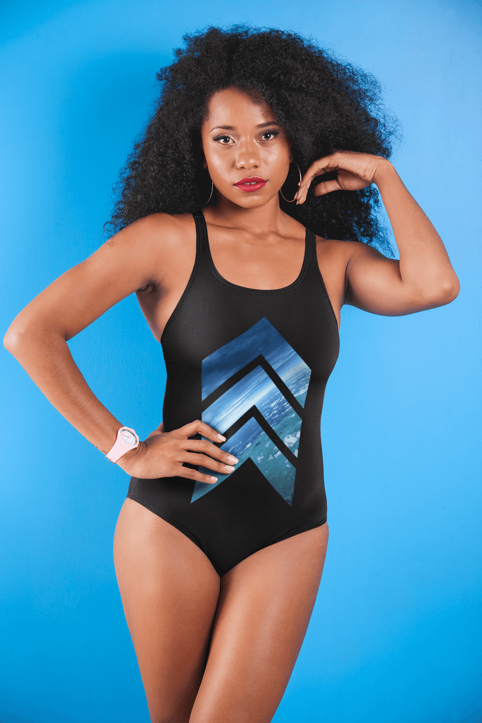 You can only go Up one Piece Swimsuit