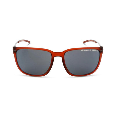 Porsche Design Damen,Herren Sonnenbrille P8637 D Red Transparent