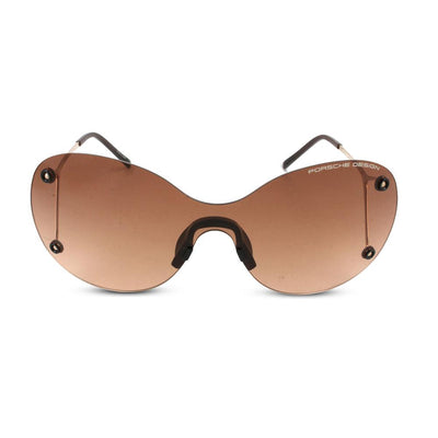 Porsche Design Damen Sonnenbrille P8621 B Gold, Brown