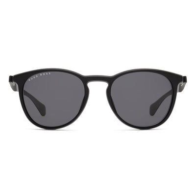 Hugo Boss Herren Sonnenbrille BOSS 1115-S O6W Black Sk Ruthenium Dark Lite Grey