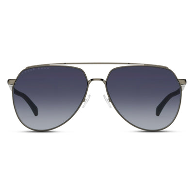 Hugo Boss Herren Sonnenbrille BOSS 1130-S R80 Semi Matt Dark Ruthenium