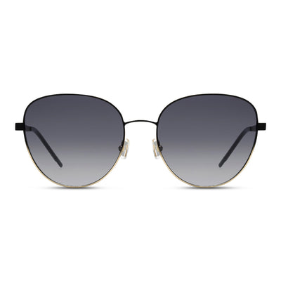 Hugo Boss Damen Sonnenbrille BOSS 1161-S I46 Matt Black Gold