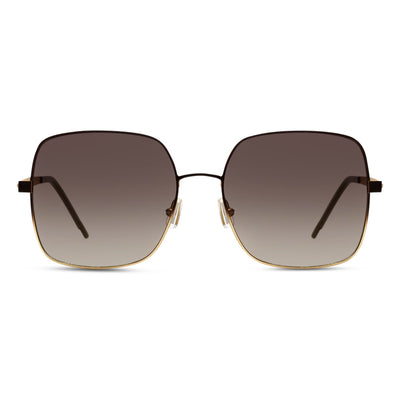 Hugo Boss Damen Sonnenbrille BOSS 1160-S UFM Matt Light Brown Matt Light Gold Do
