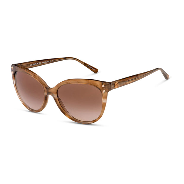 MICHAEL KORS Damen Sonnenbrille MK2045 323513 55 Brown Floral Jan
