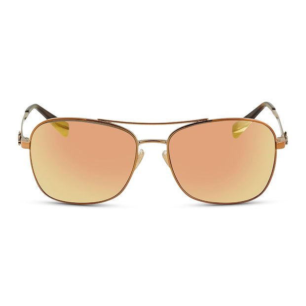 COACH Damen Sonnenbrille HC7080 9323R5 55 Rose Gold