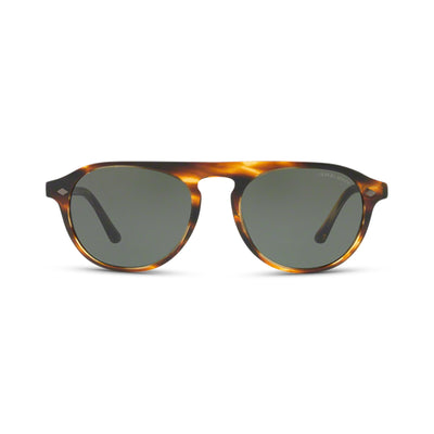 GIORGIO ARMANI Herren Sonnenbrille AR8096 559031 53 Brown Striped Brown