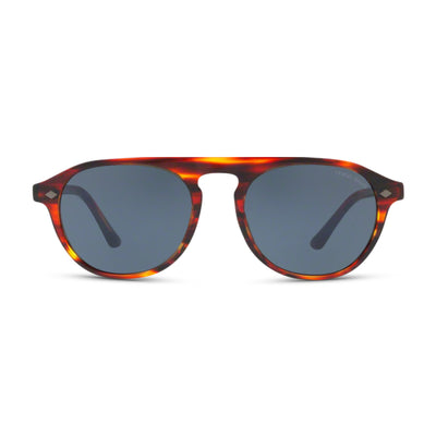GIORGIO ARMANI Herren Sonnenbrille AR8096 5580R5 53 Red Striped Red