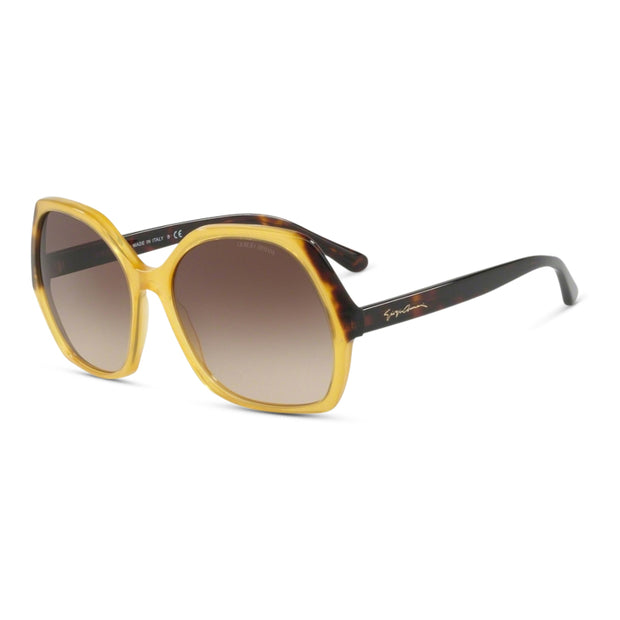 GIORGIO ARMANI Damen Sonnenbrille AR8099 558213 58 Yellow Honey Havana