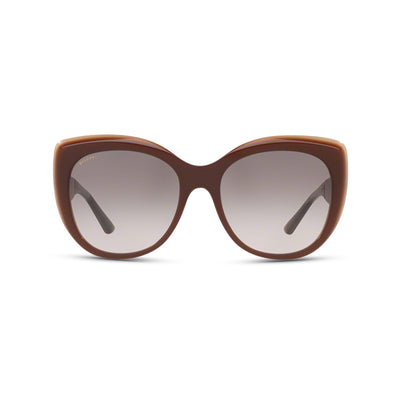 Bvlgari Damen Sonnenbrille BV8198B 54423B 57 Light Brown trilayer Brown Beige