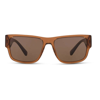 VERSACE Herren Sonnenbrille VE4369 50283G 58 TRANSPARENT BROWN