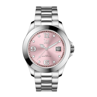 Ice-Watch Damen Uhr IW016892 ICE steel - Classic Light Pink - M