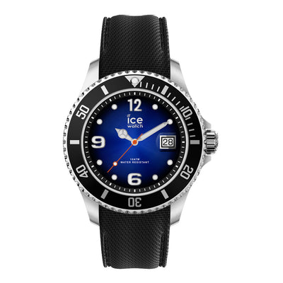 Ice-Watch Herren Uhr IW017329 ICE steel - Deep Blue - XL