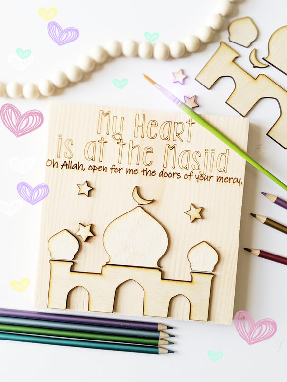 My Heart is At the Masjid Puzzle