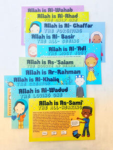 Allah Names Cards