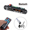 kebidu Bluetooth Handfree Car Kit 5V-12V MP3 Player TF USB 3.5 Mm AUX Audio Decoder Board FM Radio For Car For Iphone Android