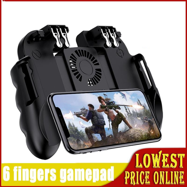 Gamepad Pubg Controller Android Joystick Mobile Game Pad Game-Controller Handheld Players WinexFor IPhone Xiaomi With Cooler Fan