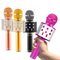 Professional Bluetooth Wireless Microphone Speaker Handheld Mini Microphone Karaoke Mic Music Player Singing Recorder Microphone