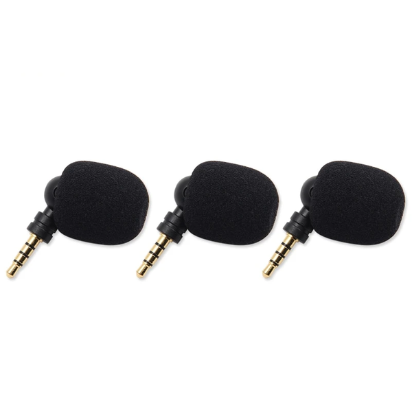 Portable Mini Microphone 3.5mm Aux Flexural Bendable for Mobile Phone Computer Laptop PC
