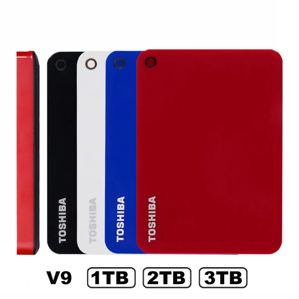 "Toshiba Canvio Advanced V9 USB 3.0 2.5 "" 1TB 2TB 3TB HDD Portable External Hard Drive Disk Mobile 2.5 For Laptop Computer"