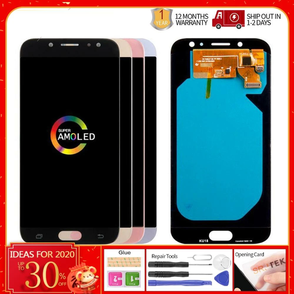Original 5.5'' AMOLED Display for SAMSUNG Galaxy J7 Pro J730 LCD For SAMSUNG J7 2017 Display Touch Screen Digitizer J730F Screen