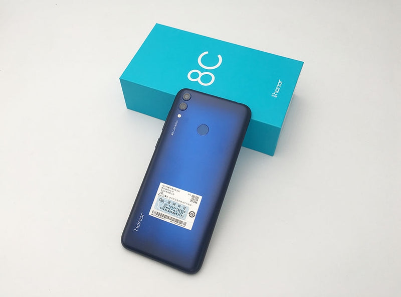 8c Honor 8c 3 slot Face ID 6.26 inch  Snapdragon 632 Octa Core Front 8.0MP Dual Rear Camera 4000mAh
