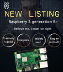 Original Raspberry Pi 3 Model B + Raspberry Pi Raspberry Pi3 B Plus Pi 3 Pi 3B With WiFi & Bluetooth