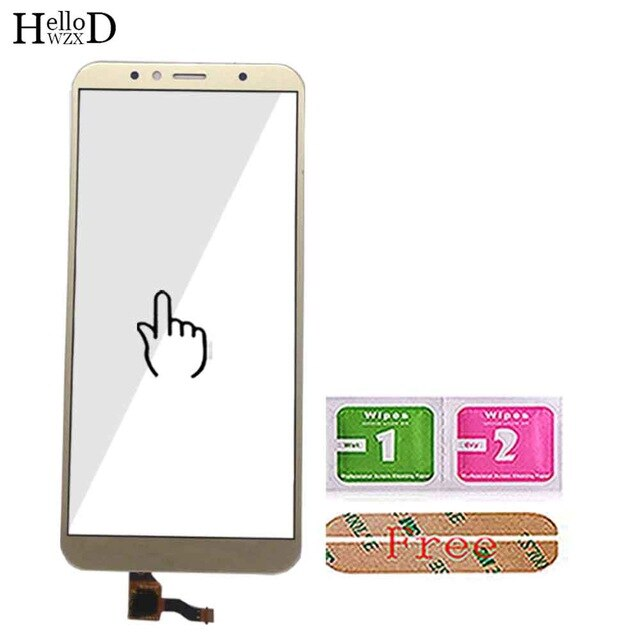 5.7'' Mobile Touch Screen Sensor For Huawei Honor 7A Pro AUM-L29 Touch Screen Digitizer Front Glass Panel