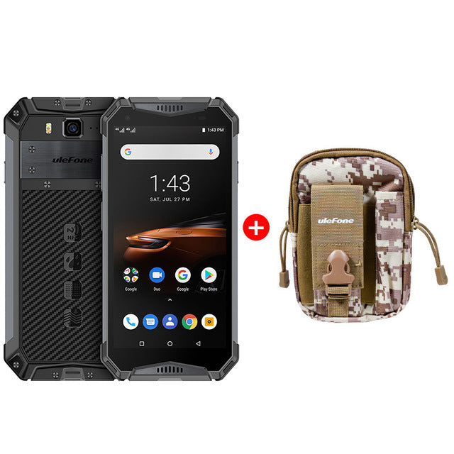 "Ulefone Armor 3W Rugged Smartphone Android 9.0 IP68 5.7"" Helio P70 6G+64G 10300mAh  Cell Phone 4G Dual SIM Mobile Phone Android"