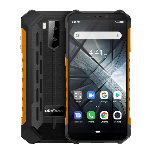 Ulefone Armor X5 Rugged Smartphone Android 9.0 Octa-core Helio P23 NFC IP68 3GB 32GB 5000mAh Cell Phone 4G  Mobile Phone Android