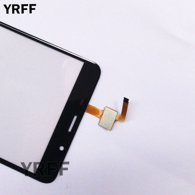 Touch Screen Panel For Leagoo M8 / M8 Pro Touch Screen Sensor Glass Digitizer Front Panel 5.7'' 3M Glue Wipes