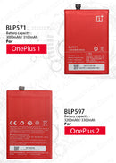 ONE PLUS Original Replacement Battery For OnePlus 3 3T 5 5T 2 1 BLP571 BLP597 BLP613 BLP633 BLP637 For 1+ 6 6T 7 Pro Batteries