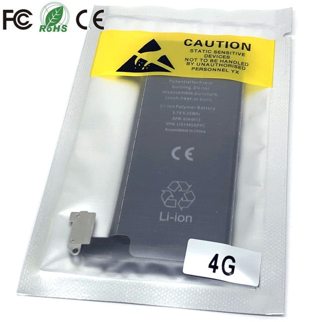 new 0 cycle seal oem high capacity mobile phone battery pack for apple iphone 4 4S 5 5S 5C SE 6 6S 7 8 Plus X XR XS Max battery