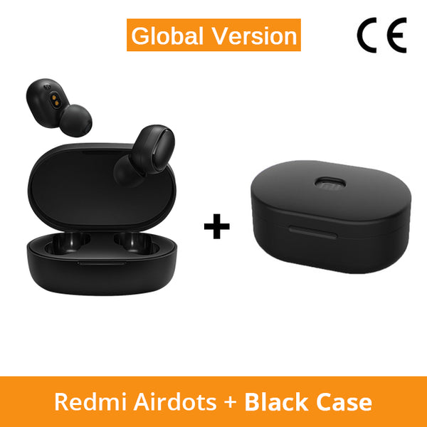 Xiaomi Redmi AirDots Wireless Bluetooth 5.0 Charging Earphone Mi Ture Wireless Earbuds In-Ear stereo bass Earphones AI Control