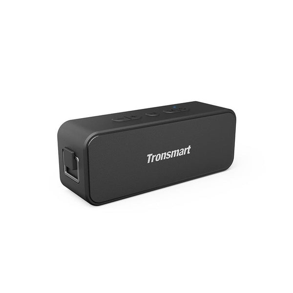 Original Tronsmart T2 Plus Bluetooth Portable Speaker TWS Bluetooth 5.0 20W 24H IPX7 Small Size Black with Voice Assistant