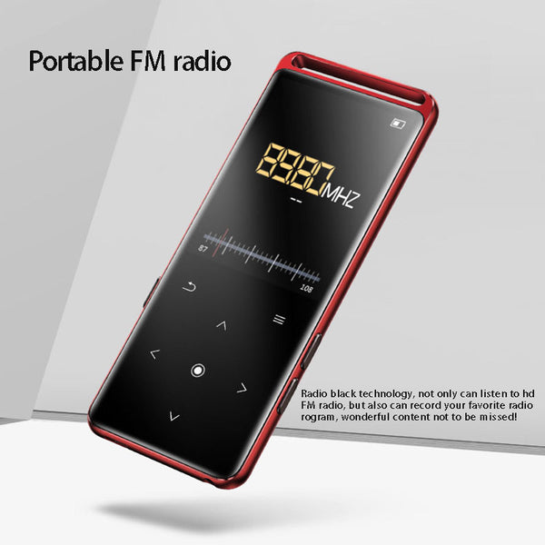 2020 NEW Bluetooth 5.0 Lossless MP3 Player 16GB HiFi Portable Audio Walkman With FM Radio EBook Voice Recorder MP3 Music Player