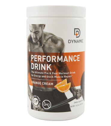 DYNAMIC Performance Drink - Orange Cream