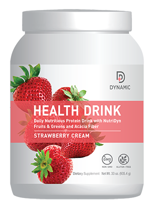 DYNAMIC Health Drink - Strawberry Creme
