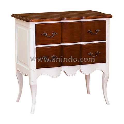 French 2 Drawers Chest