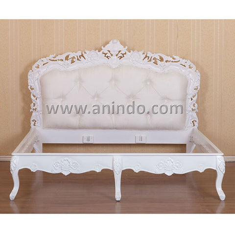 Rococo Upholstery Bed
