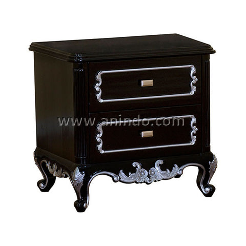 2 Drawers Bedside