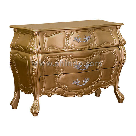 3 Drawers Commode