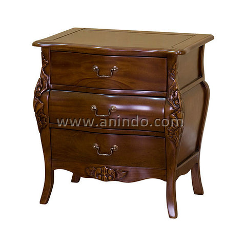 3 Drawers Bedside