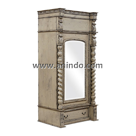 1 Glass Door Armoire
