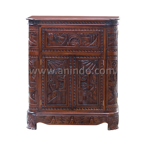 Carved Bar Table